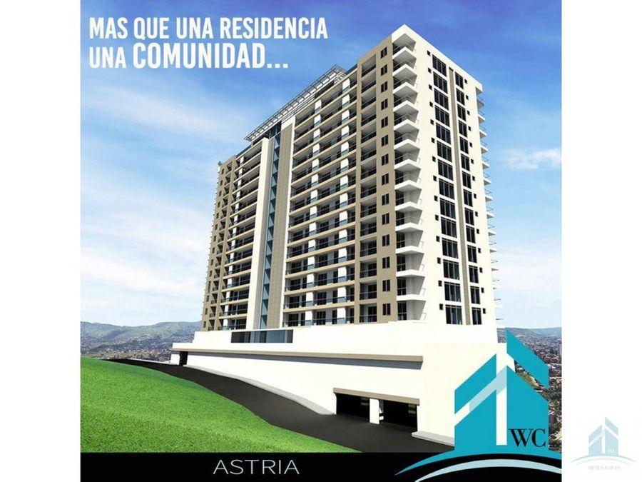 apartamento en renta torre astria