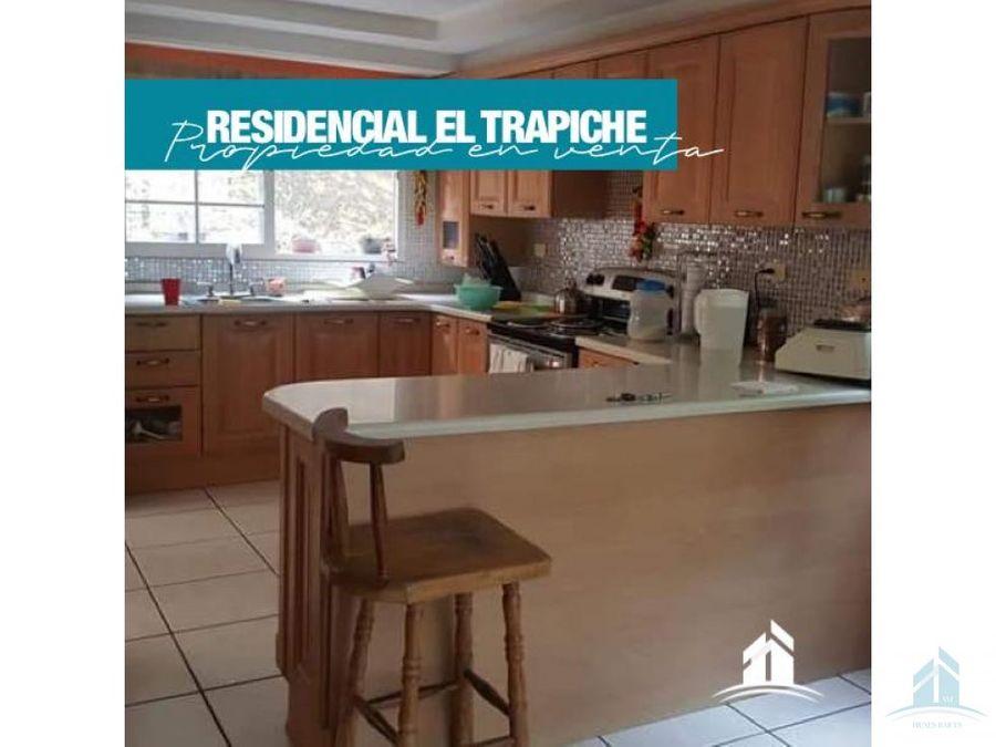 casa en venta residencial el trapiche