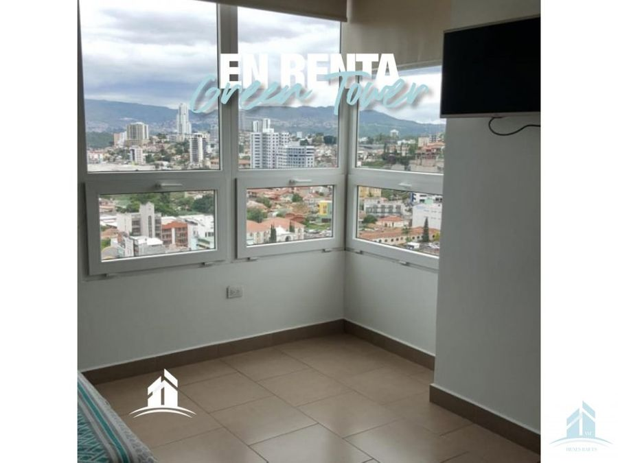 apartamento en renta green tower