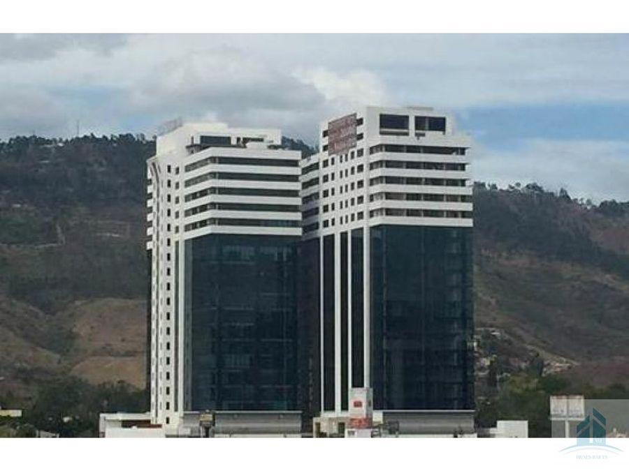 renta de oficina torre morazan