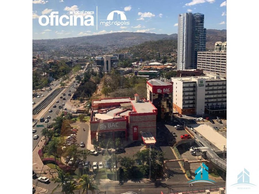 oficina en renta torre metropolis