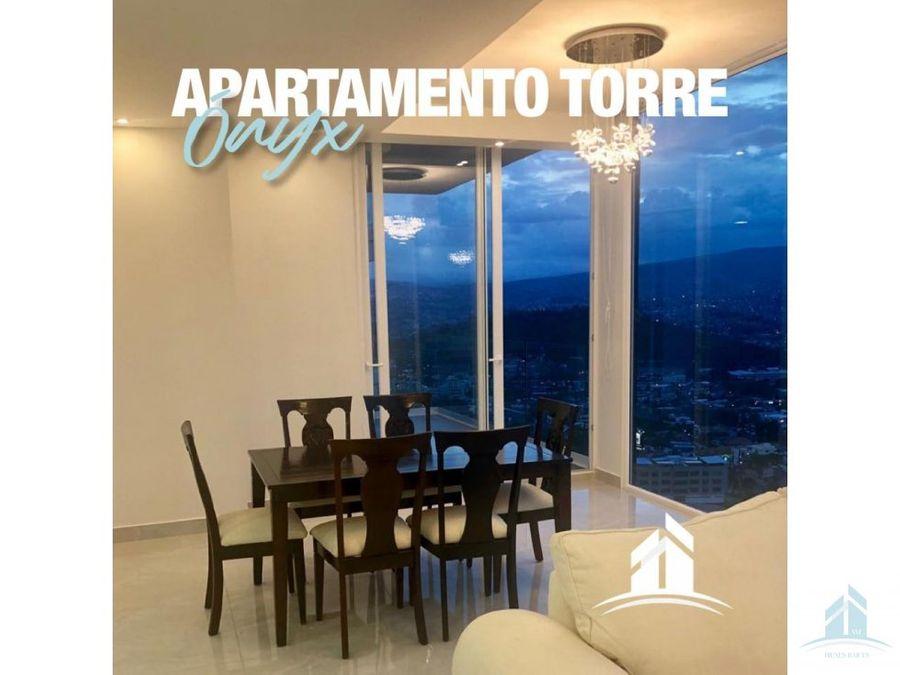 apartamento en renta torre onix