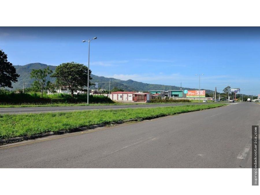 venta de terreno comercial santa ana ruta 27