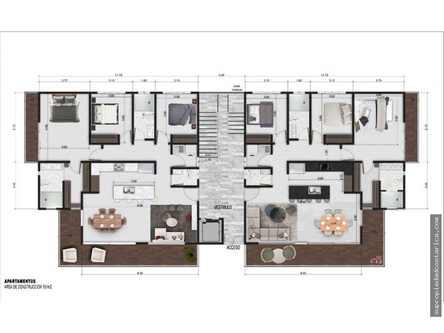 apartamentos de lujo en santa ana