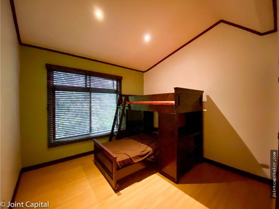 alquiler de casa 3 habitaciones en condominio en guachipelin escazu