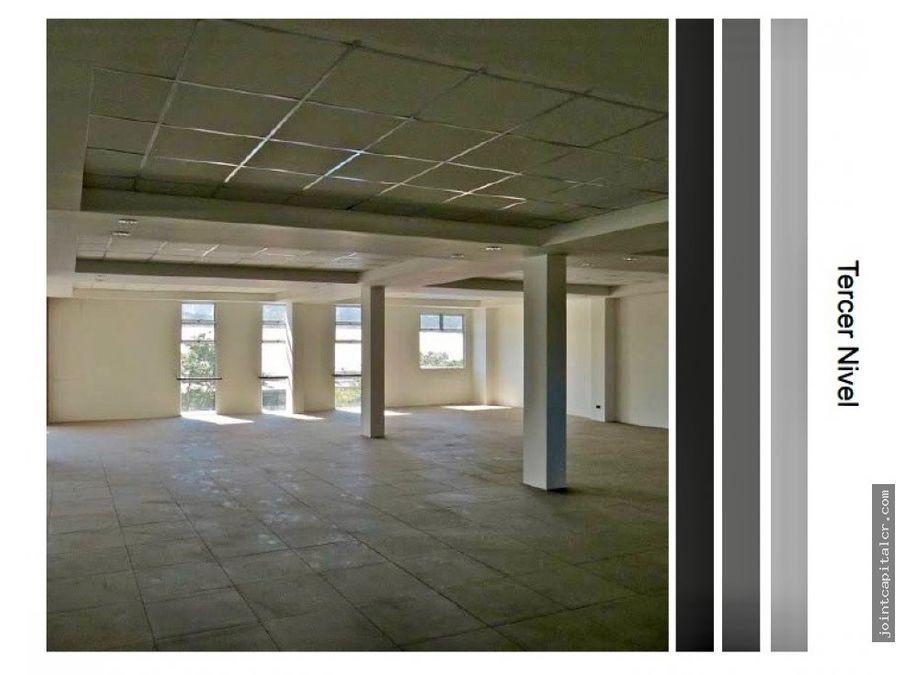 alquiler de oficinas tercer piso en edificio