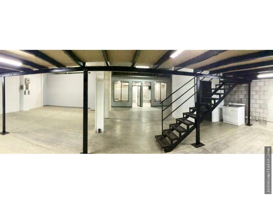 alquiler bodega 200 m2 zona industrial en guachipelin escazu