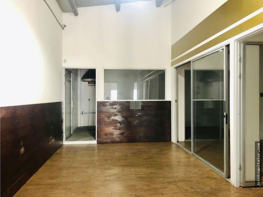 alquiler de bodega 185 m2 con mezzanine en condominio escazu