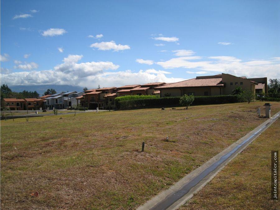 venta lote de 875 m2 en exclusivo condominio en guacima alajuela