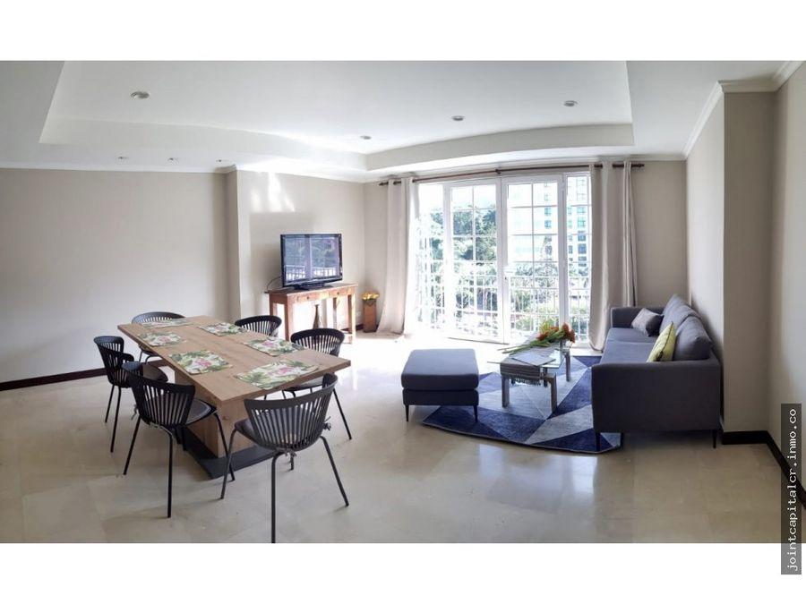 apartamento amueblado 2 habitaciones en condominio