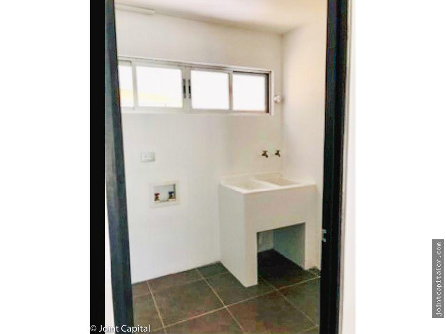 alquiler de casa 2 habitaciones en condominio en santa ana