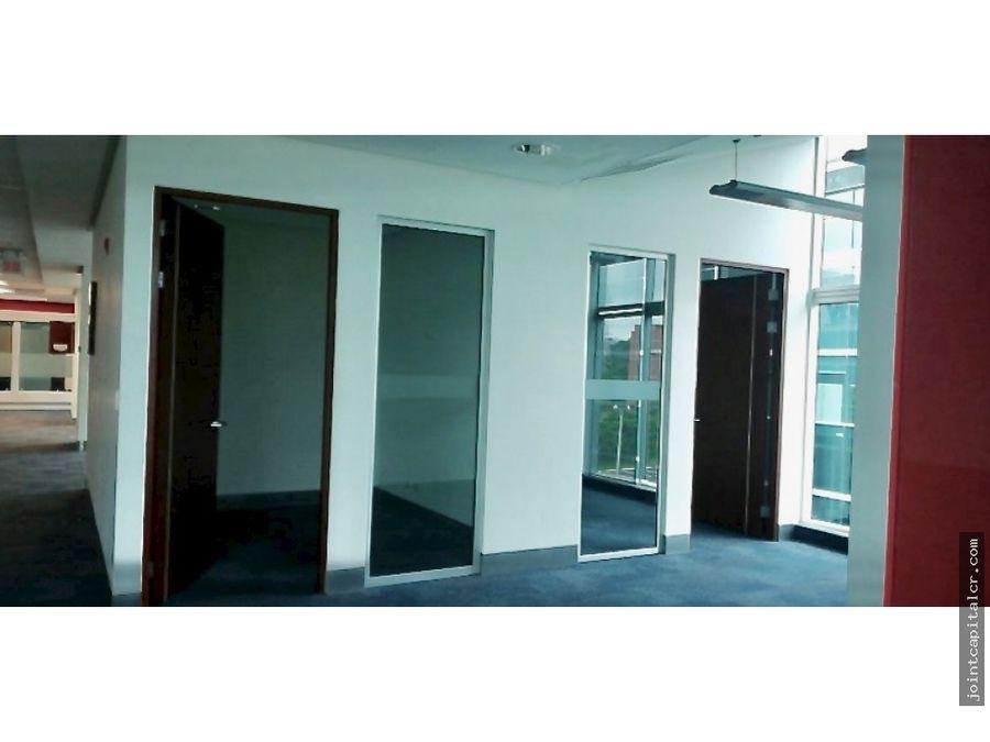 alquiler oficina 495 m2 en parque empresarial en santa ana