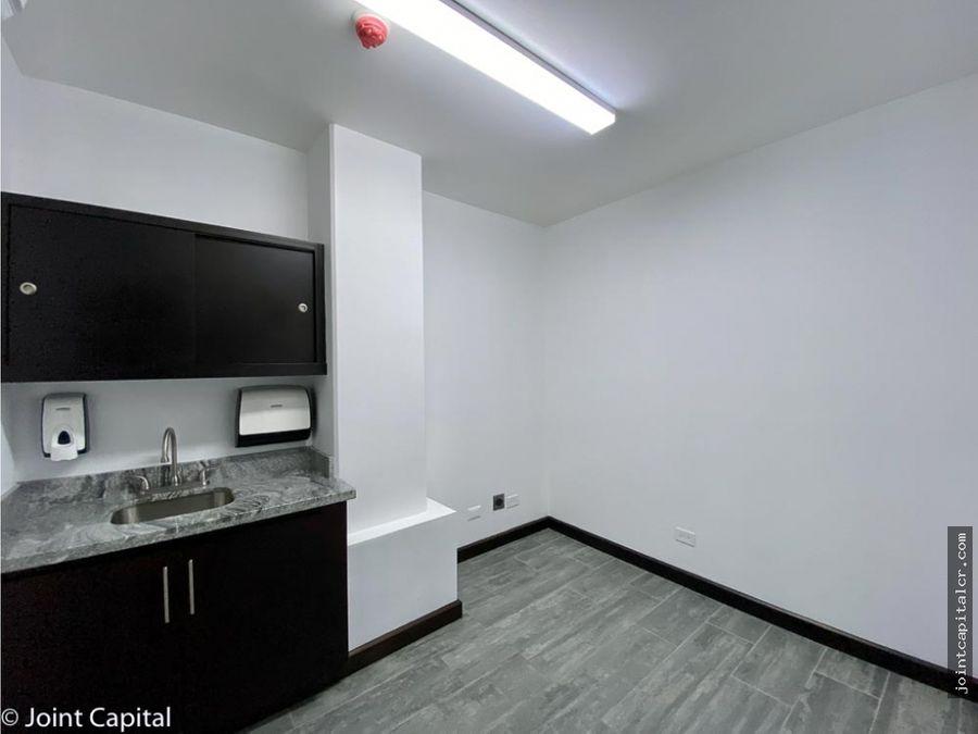 alquiler de consultorio 72 m2 en centro medico en escazu
