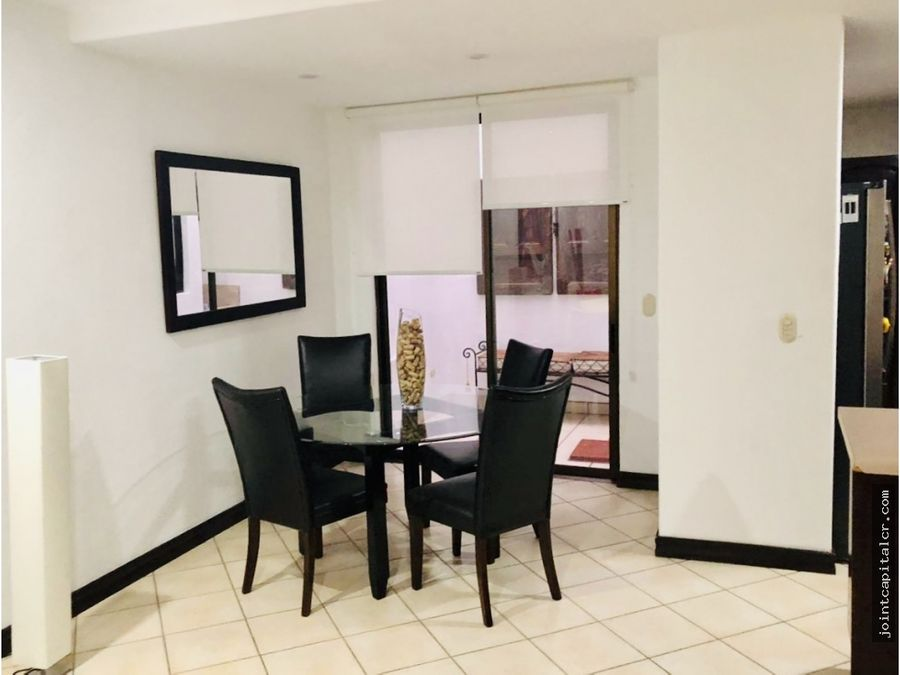 venta apartamento tipo townhouse 1 habitacion san rafael escazu