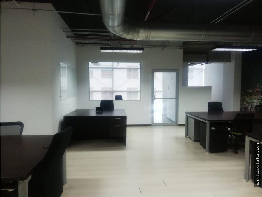 alquiler de oficina 119 m2 en centro corporativo santa ana