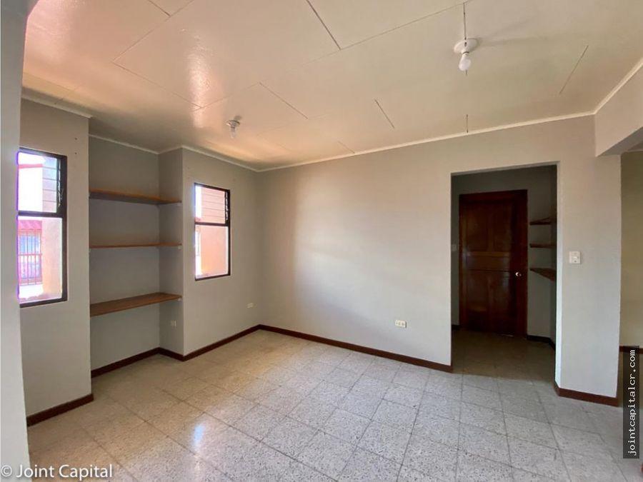 alquiler apartamento 2 habitaciones 2do piso santo domingo heredia