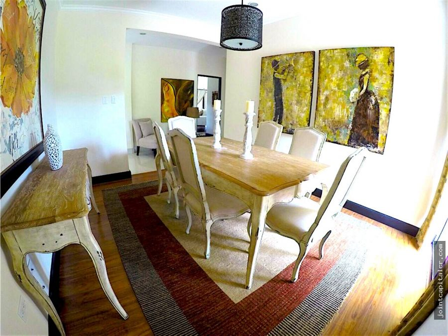 apartamento 2 habitaciones tipo penthouse amueblado santa ana
