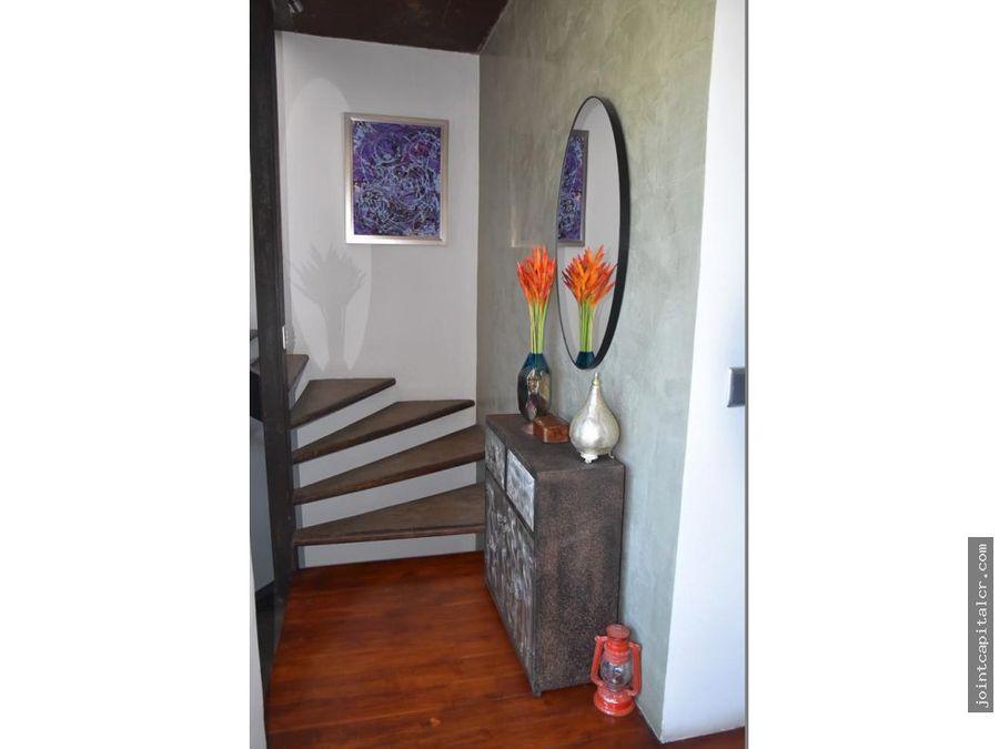 venta apartamento 1 habitacion tipo loft en condominio en escazu
