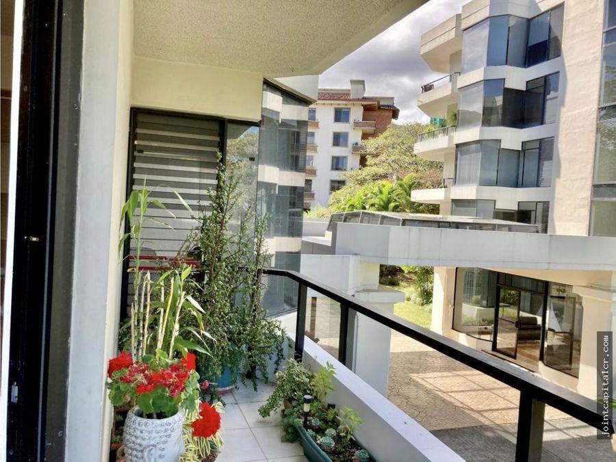 venta de apartamento de 3 habitaciones en condominio en escazu