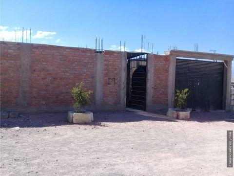 terreno semiconstruido en venta por ocacion