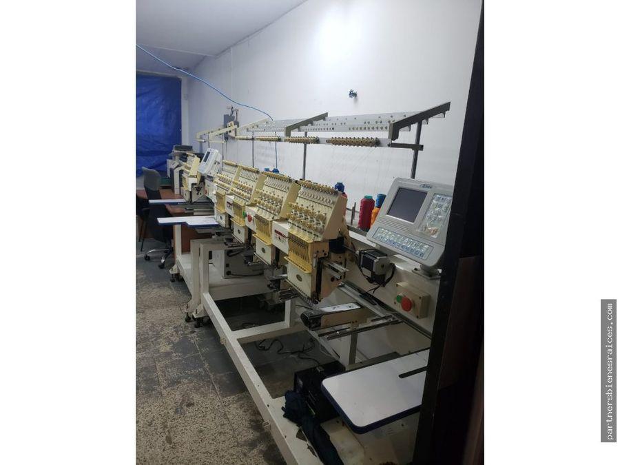 alquiler de local comercial taller de serigrafia bordados