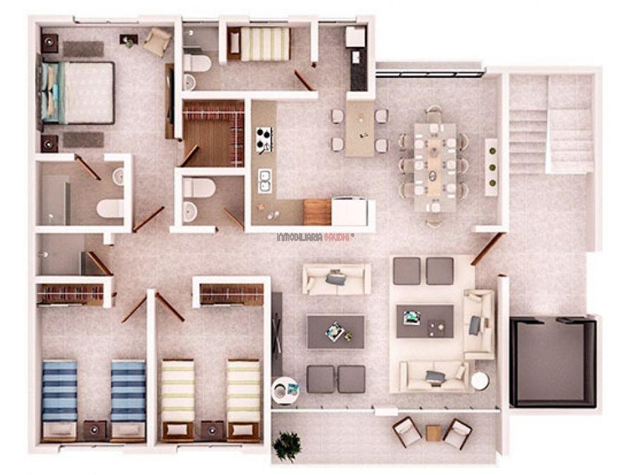 apartamento residencial riviera colonial santo domingo