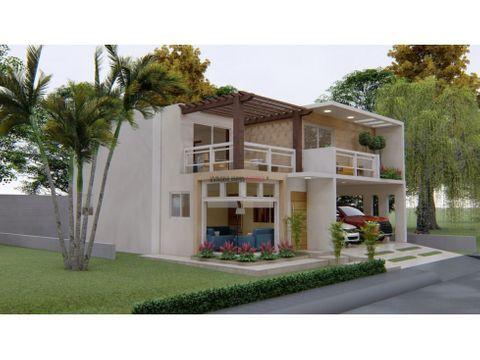 proyecto residencial casas 2 niveles madre vieja sur san cristobal