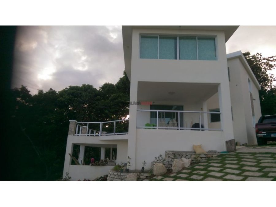 casa campestre en zona extraordinaria de san cristobal