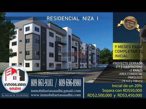 proyecto residencial niza i apartamentos 2 3 habitaciones nizao