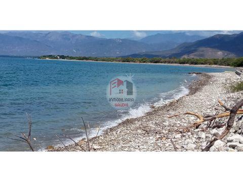 terreno de playa palmar de ocoa