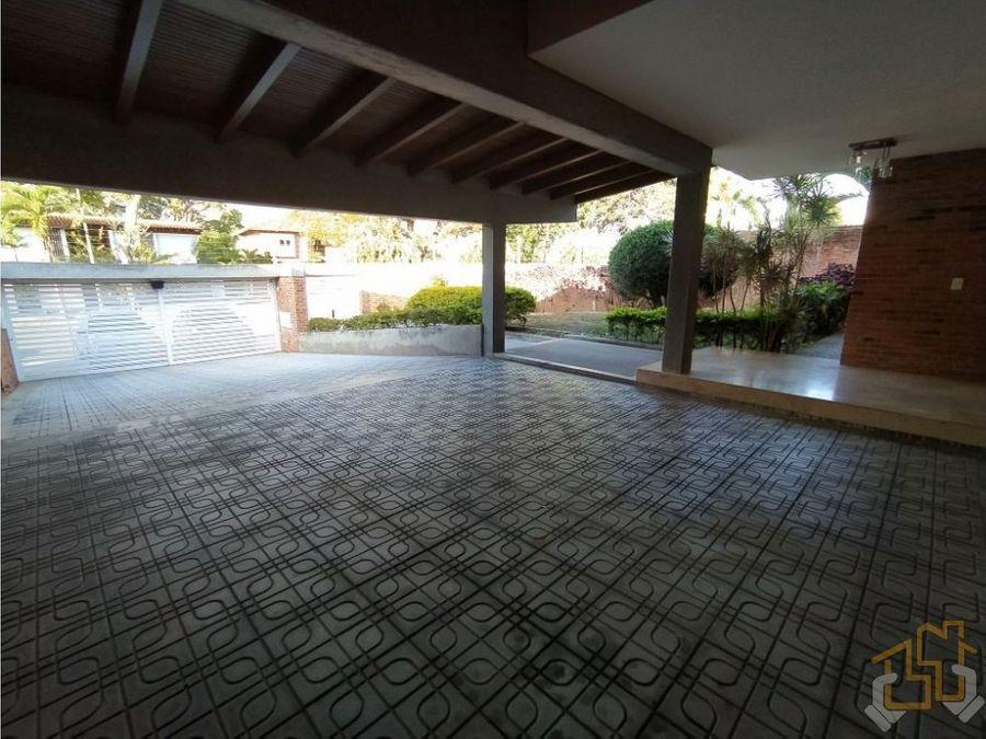 esplendida casa caurimare 550 m2