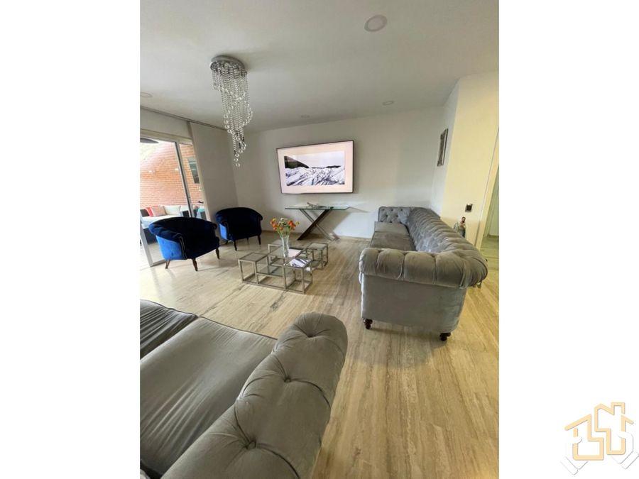 venta apartamento 163 m2 el solar del hatillo