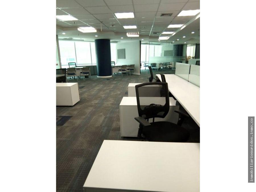 alquiler moderna oficina cc boleita 322 m2