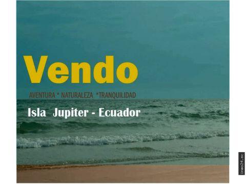 en venta isla paradisiaca manabi ecuador
