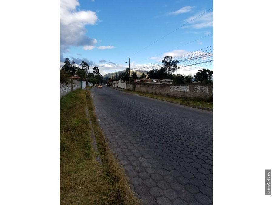 venta de terreno dean bajo conocoto quito