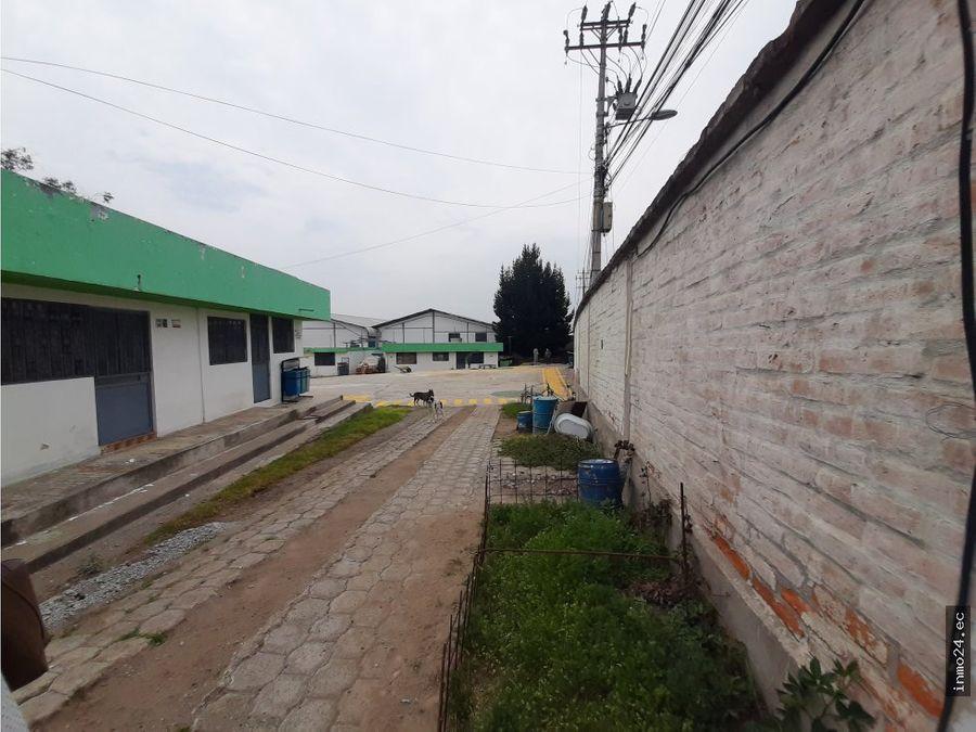 venta terreno industrial i2 calderon norte de quito