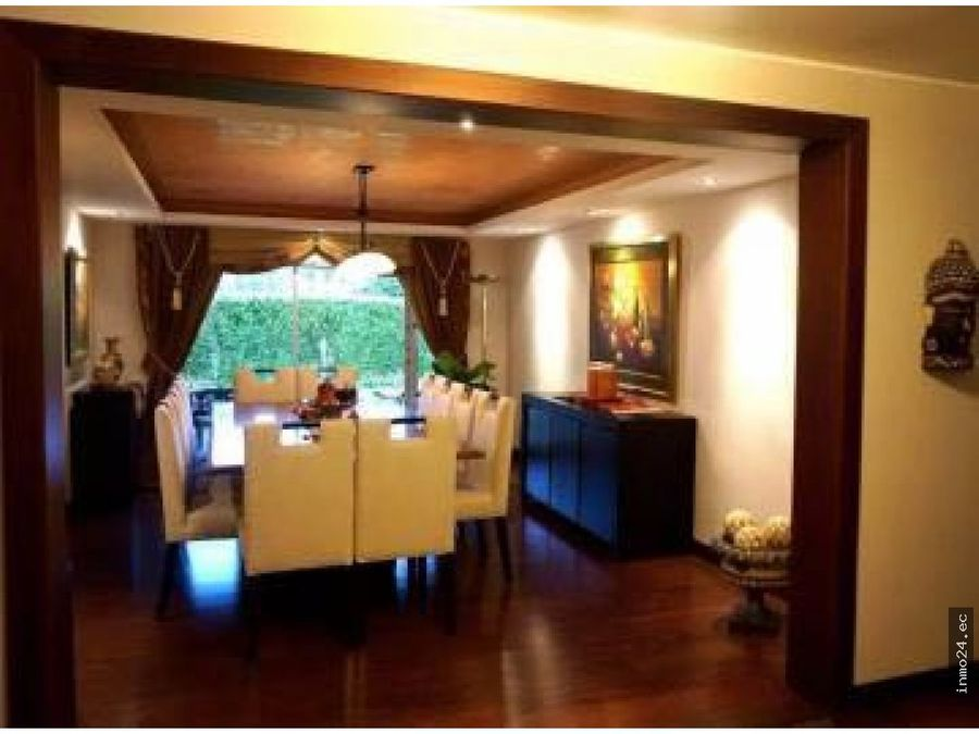 venta de casa en cumbaya quito