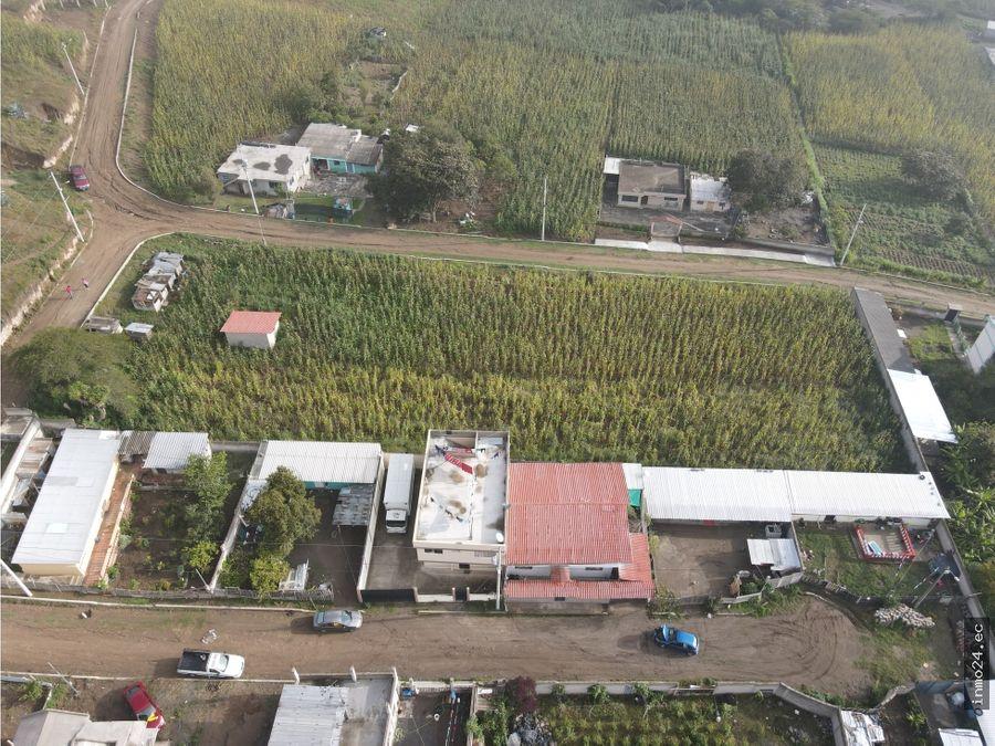 venta terreno plano sector norte calderon oyacoto