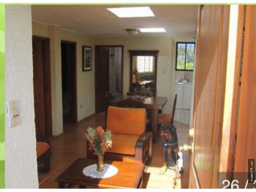 venta quinta amoblada en guayllabamba sector turistico