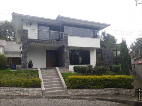 venta casa independiente conjunto ontaneda valle chillos