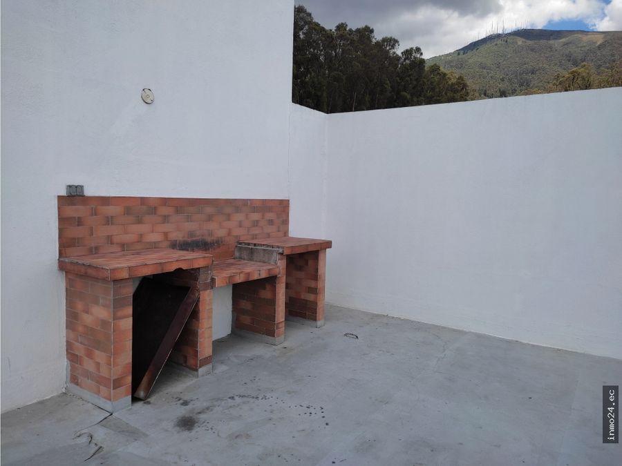 venta suite con terrazasector el bosque centro norte de quito