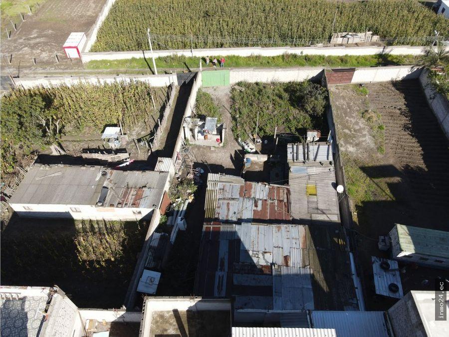 venta terreno sector norte calderon las acacias ii