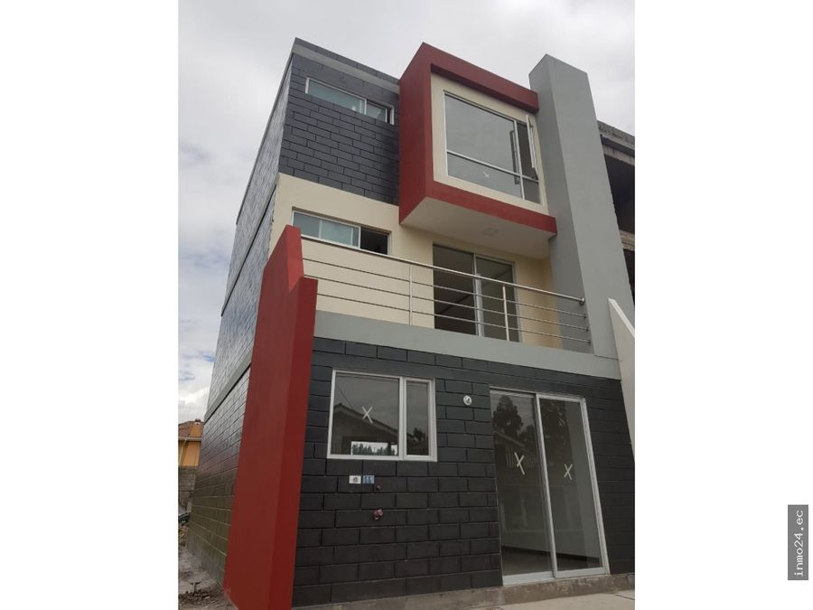 proyecto de casas vip sector capelo los chillos