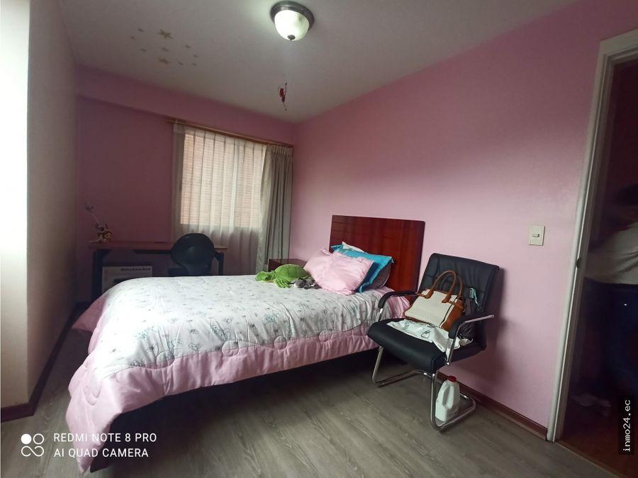 renta departamento amoblado 2 habitaciones sector quicentro norte