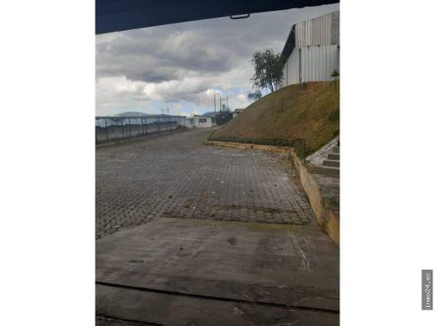 renta de galpon industrial norte de quito