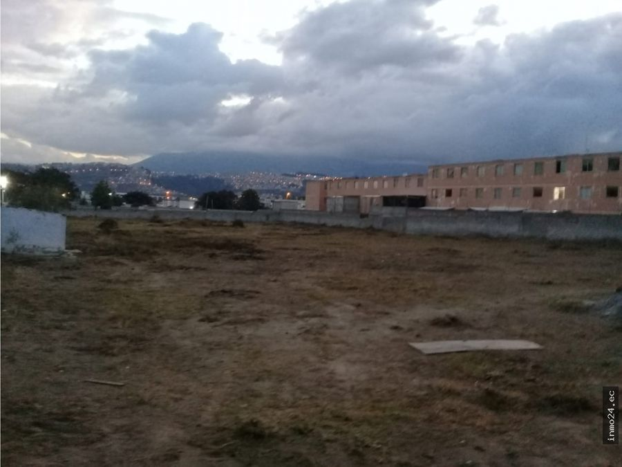 venta terreno plano uso residencial sector cipreses calderon