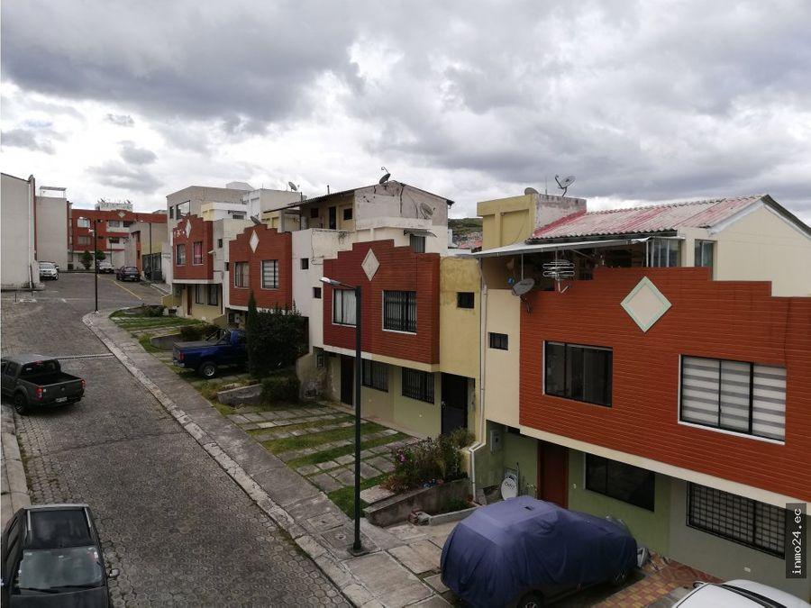 casa en venta sector puente 2 autopista gral ruminahui