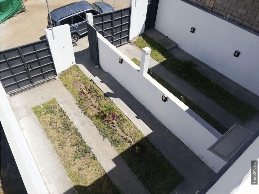 venta casa independiente sector puente 2 aut gral ruminahui