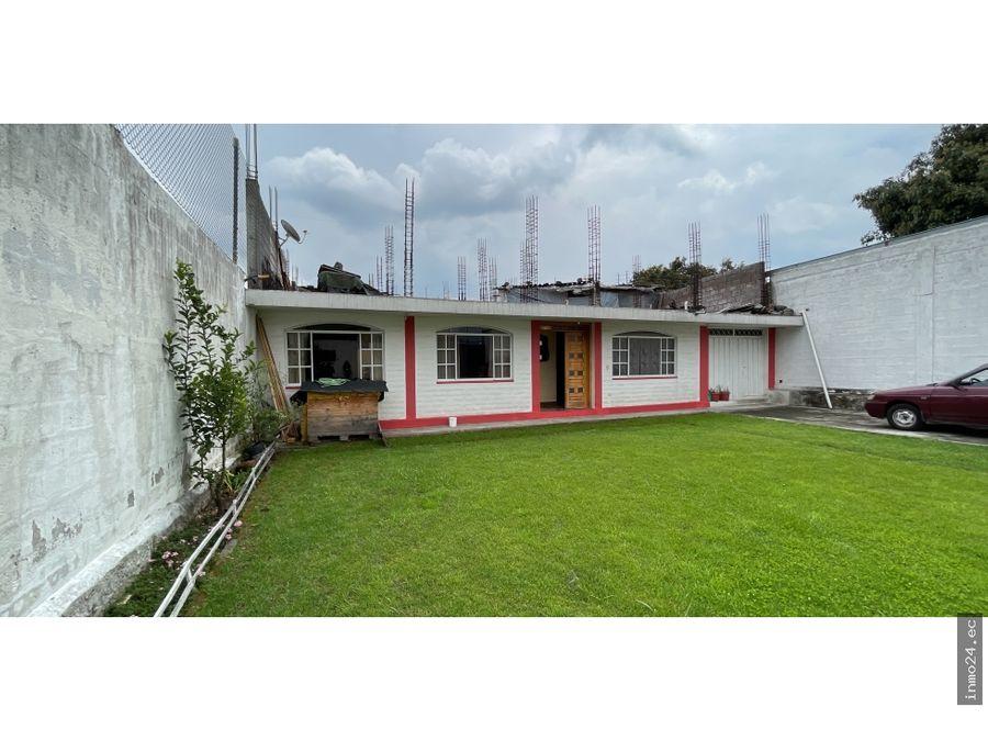 venta casa independiente una sola planta urb santa rosa sangolqui