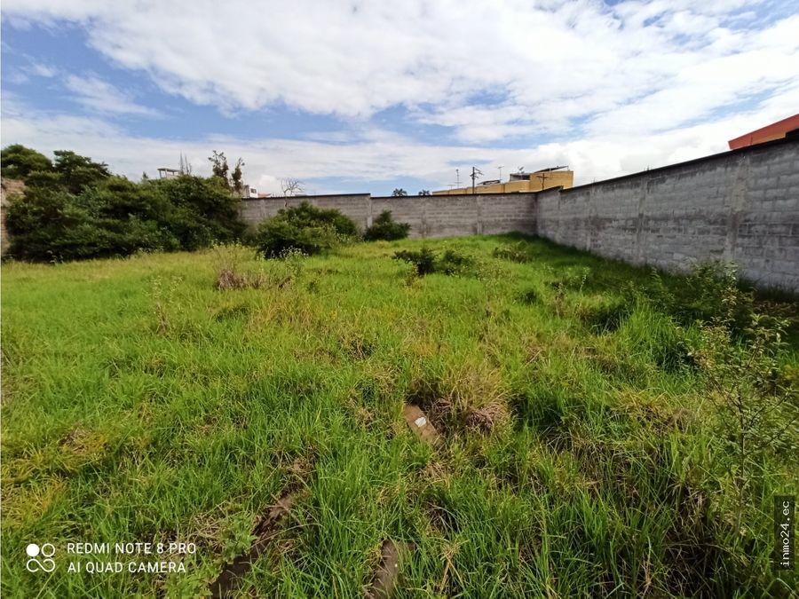 terreno plano en venta sector parque la moya conocoto